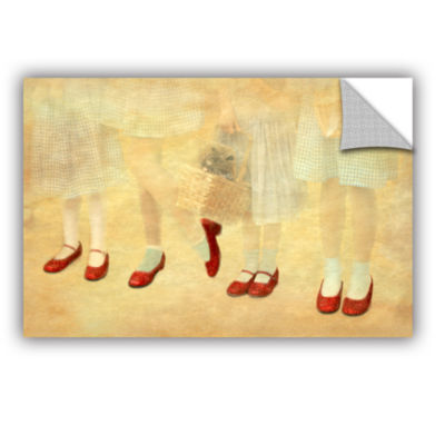 Brushstone Ruby Slippers Removable Wall Decal