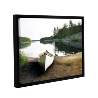 Brushstone Silent Retreat 1 Gallery Wrapped Floater-Framed Canvas Wall Art