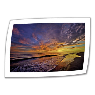 Brushstone Serene Sunset Canvas Wall Art