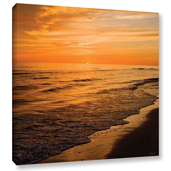 Brushstone Serene Sunset Gallery Wrapped Canvas Wall Art