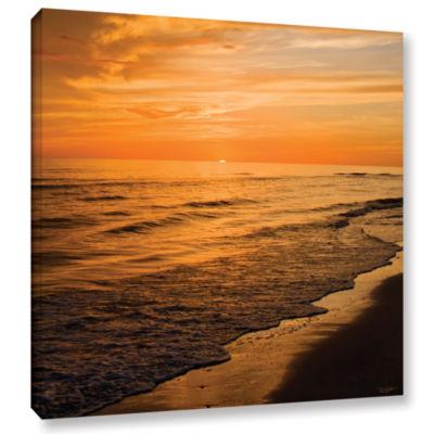 Brushstone Serene Sunset Gallery Wrapped Canvas Wall Art