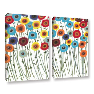 Brushstone Simply Gorgeous 2-pc. Gallery Wrapped Canvas Wall Art