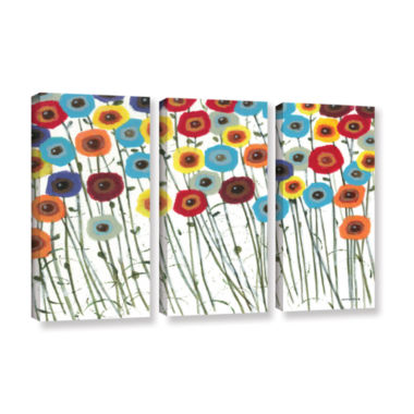 Brushstone Simply Gorgeous 3-pc. Gallery Wrapped Canvas Wall Art