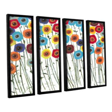 Brushstone Simply Gorgeous 4-pc. Floater Framed Canvas Wall Art