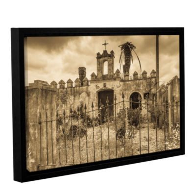 Brushstone Senora Santa Ana Chapel Gallery WrappedFloater-Framed Canvas Wall Art