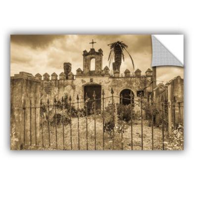 Brushstone Senora Santa Ana Chapel Removable WallDecal