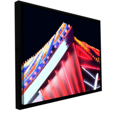 Brushstone Sin City Seventy Five Gallery Wrapped Floater-Framed Canvas Wall Art