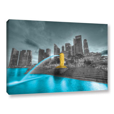 Brushstone Singapore Gallery Wrapped Canvas Wall Art