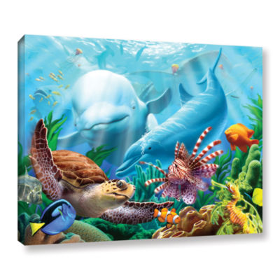 Brushstone Seavilian Gallery Wrapped Canvas Wall Art