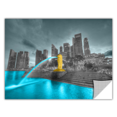 Brushstone Singapore Removable Wall Decal