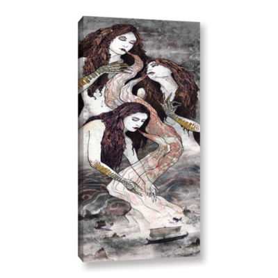Brushstone Sirens Lure Gallery Wrapped Canvas WallArt