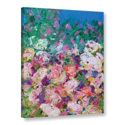 Brushstone Sissinghurst Castle Garden Gallery Wrapped Canvas Wall Art