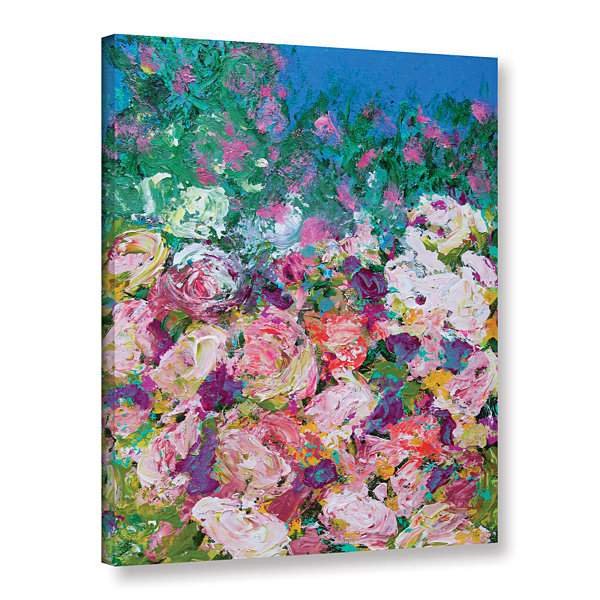 Brushstone Sissinghurst Castle Garden Gallery Wrapped Canvas Wall Art