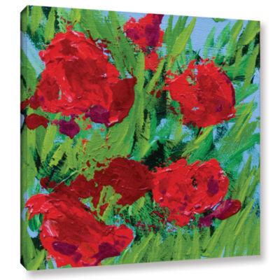 Brushstone Sitta Garden Gallery Wrapped Canvas Wall Art