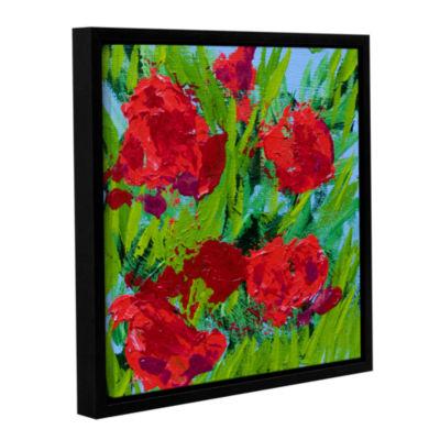 Brushstone Sitta Garden Gallery Wrapped Floater-Framed Canvas Wall Art