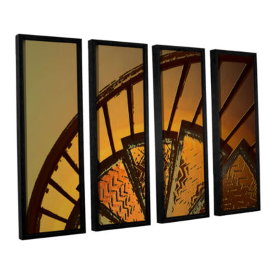 Brushstone Sixth Step 4-pc. Floater Framed CanvasWall Art