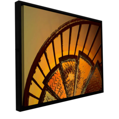 Brushstone Sixth Step Gallery Wrapped Floater-Framed Canvas Wall Art