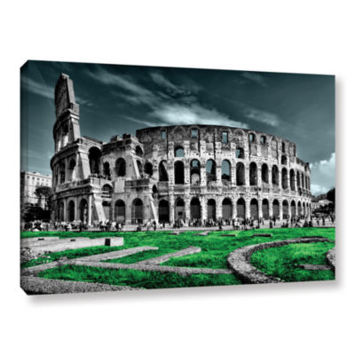 Brushstone Rome Gallery Wrapped Canvas Wall Art