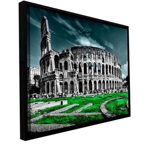 Brushstone Rome Gallery Wrapped Floater-Framed Canvas Wall Art