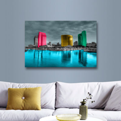 Brushstone San Diego Gallery Wrapped Canvas Wall Art