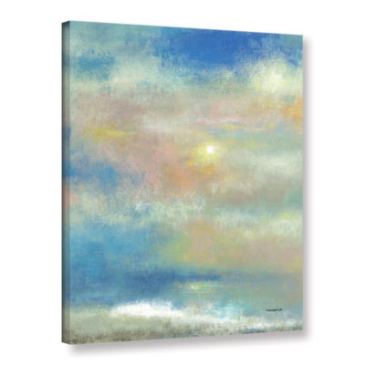 Brushstone Sky 1 Gallery Wrapped Canvas Wall Art