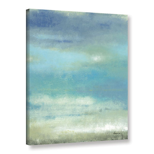 Brushstone Sky 2 Gallery Wrapped Canvas Wall Art