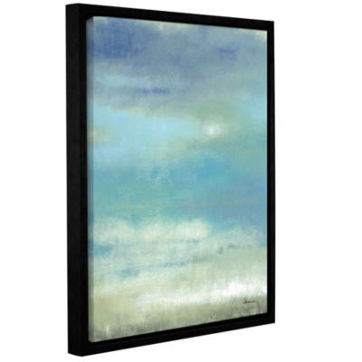 Brushstone Sky 2 Gallery Wrapped Floater-Framed Canvas Wall Art