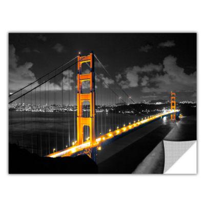 Brushstone San Francisco Bridge I Removable Wall Decal