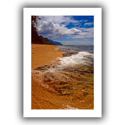 Brushstone Sky Surf And Sand Canvas Wall Art