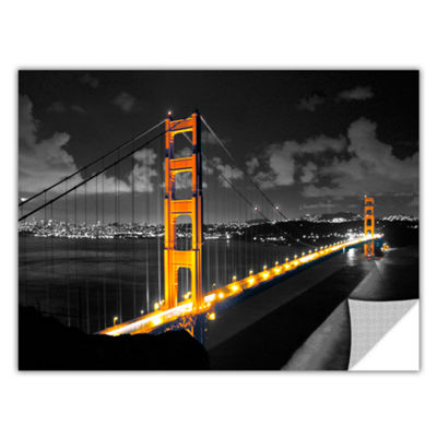 Brushstone San Francisco Bridge I Removable Wall Decal