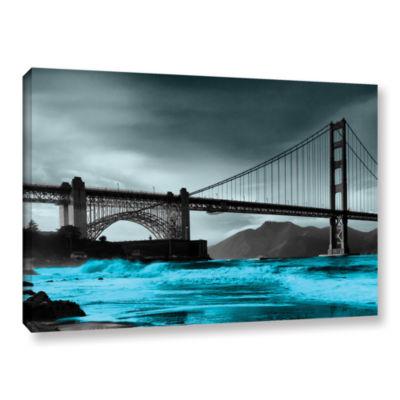 Brushstone San Francisco Bridge II Gallery WrappedCanvas Wall Art