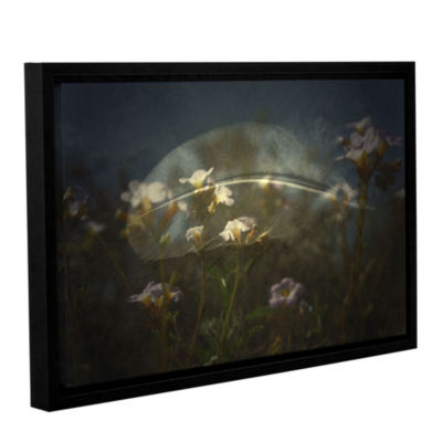 Brushstone Skys Gallery Wrapped Floater-Framed Canvas Wall Art