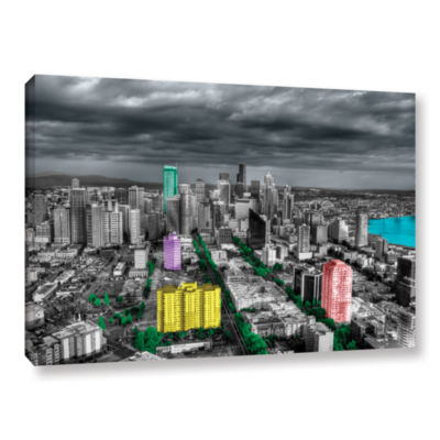 Brushstone Seattle Gallery Wrapped Canvas Wall Art