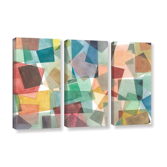 Brushstone Slideshow 3-pc. Gallery Wrapped CanvasWall Art