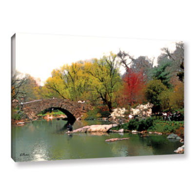 Brushstone Saturday Central Park Gallery Wrapped Canvas Wall Art