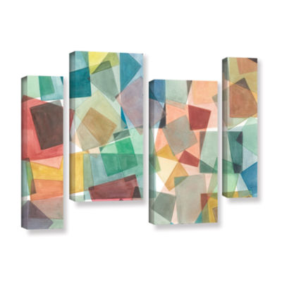 Brushstone Slideshow 4-pc. Gallery Wrapped Staggered Canvas Wall Art