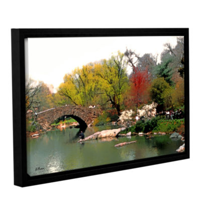 Brushstone Saturday Central Park Gallery Wrapped Floater-Framed Canvas Wall Art