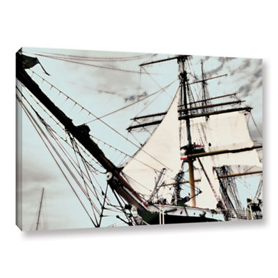 Brushstone Sailing On Star Of India I Gallery Wrapped Canvas Wall Art