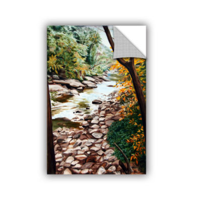 Brushstone Slippery Rock Creek Removable Wall Decal