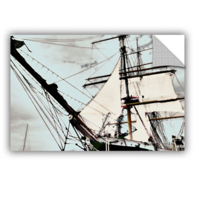 Brushstone Sailing On Star Of India I Removable Wall Decal