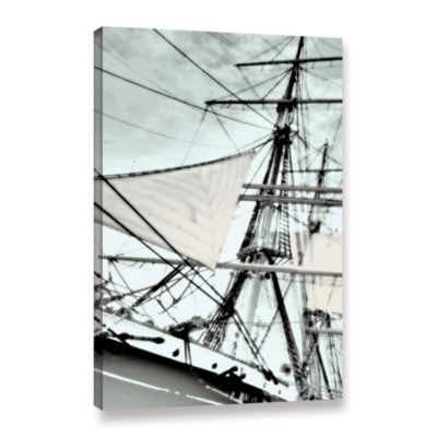 Brushstone Sailing On Star Of India III Gallery Wrapped Canvas Wall Art