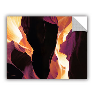 Brushstone Slot Canyon Light From Above 1 Removable Wall Decal