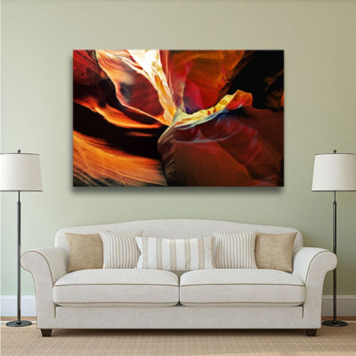 Brushstone Slot Canyon Light From Above 2 GalleryWrapped Canvas Wall Art