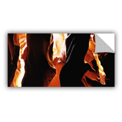 Brushstone Slot Canyon Light From Above 3 Removable Wall Decal
