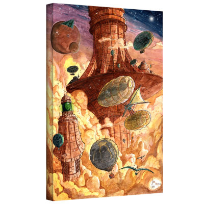 Brushstone Rusting World Gallery Wrapped Canvas Wall Art