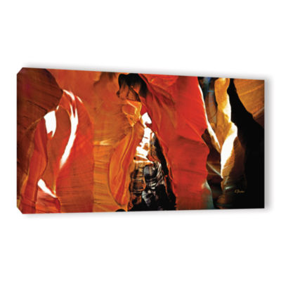 Brushstone Slot Canyon Light From Above 5 GalleryWrapped Canvas Wall Art