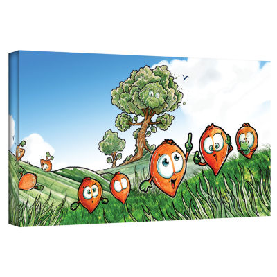 Brushstone Seeds Gallery Wrapped Canvas Wall Art
