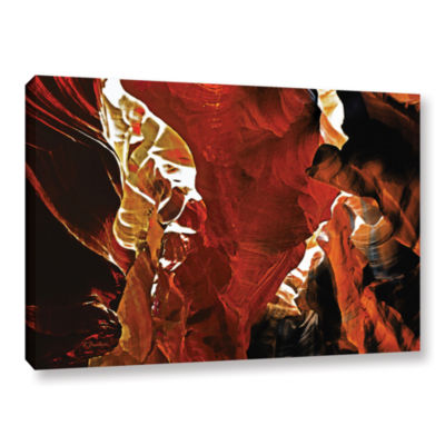 Brushstone Slot Canyon Light From Above 6 GalleryWrapped Canvas Wall Art