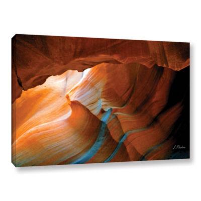 Brushstone Slot Canyon V Gallery Wrapped Canvas Wall Art