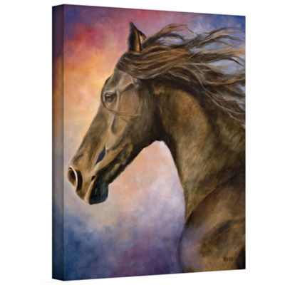 Brushstone Seer Gallery Wrapped Canvas Wall Art